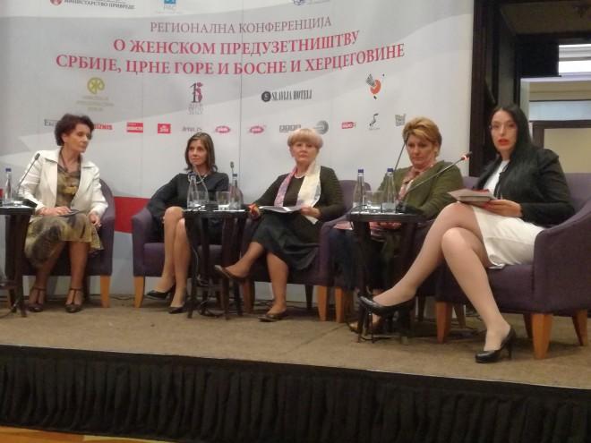 II Regionalnu konferenciju o ženskom preduzetništvu u Srbiji, Crnoj Gori i Bosni i Hercegovini, 16. oktobra 2017. godine